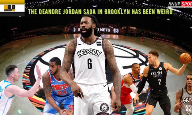 The Nets Handling of DeAndre Jordan is WEIRD