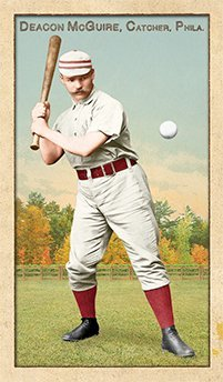 Jim Deacon McGuire – Possibly the Best Catcher Ever