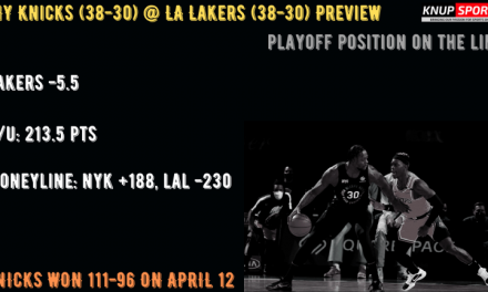 New York Knicks at Los Angeles Lakers Betting and Video Preview
