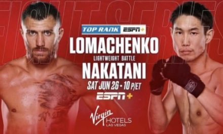 Boxing Bets for Saturday June 26 2021