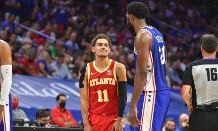 Hawks Stun Sixers in Phili, Look to Close Out Series at Home