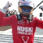 Marcus Ericsson Victorious on Day One of IndyCar Detroit Grand Prix