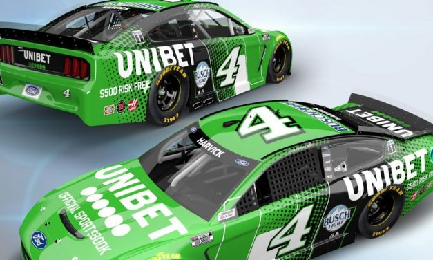 Unibet Announces Primary Sponsorship for Kevin Harvick in Two NASCAR Cup Series Races