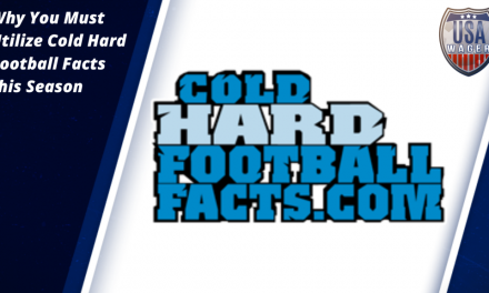 Why You Must Utilize Cold Hard Football Facts this Season
