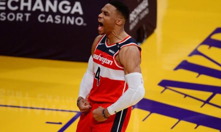 BREAKING: Russell Westbrook Traded to Lakers, Caldwell-Pope, Kuzma, Harrell, Two 2nd-Round Picks to Wizards