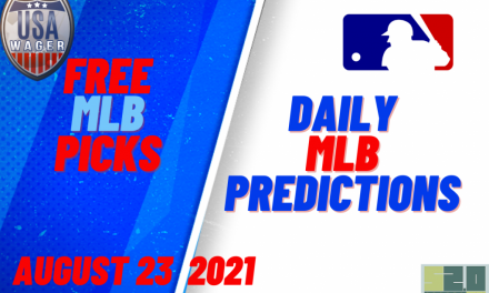 USA Wager MLB Predictions | August 23, 2021