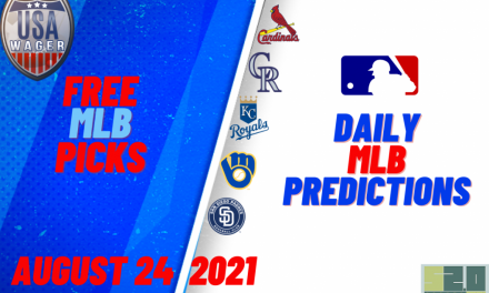 USA Wager MLB Predictions | August 24, 2021