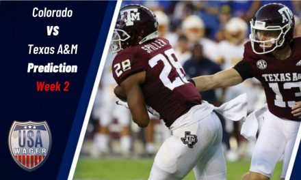 Colorado vs Texas A&M Prediction and College Football Odds for Week 2