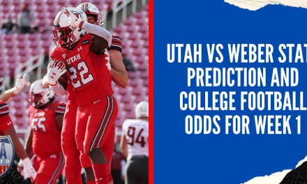 Utah vs Weber State Prediction and College Football Odds for Week 1