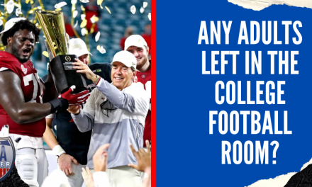 Any Adults Left in the College Football Room?