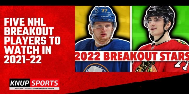 Five NHL Breakout Players to Watch in 2021-22
