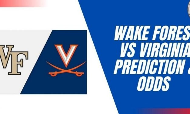 Wake Forest vs Virginia Prediction & College Football Odds for Week 4