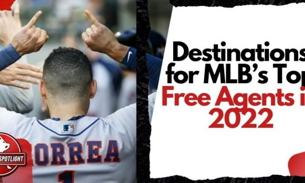 Destinations for MLB's Top Free Agents in 2022