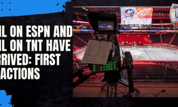 NHL on ESPN and NHL on TNT Have Arrived: First Reactions
