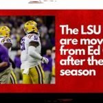 The LSU Tigers are moving on from Ed Orgeron after the 2021 season