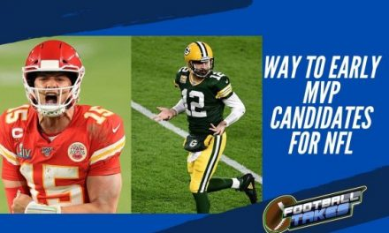 Way to Early MVP Candidates for NFL